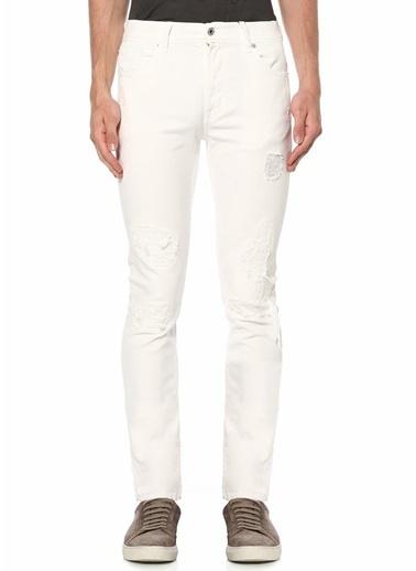 7 For All Mankind Jean Pantolon Beyaz